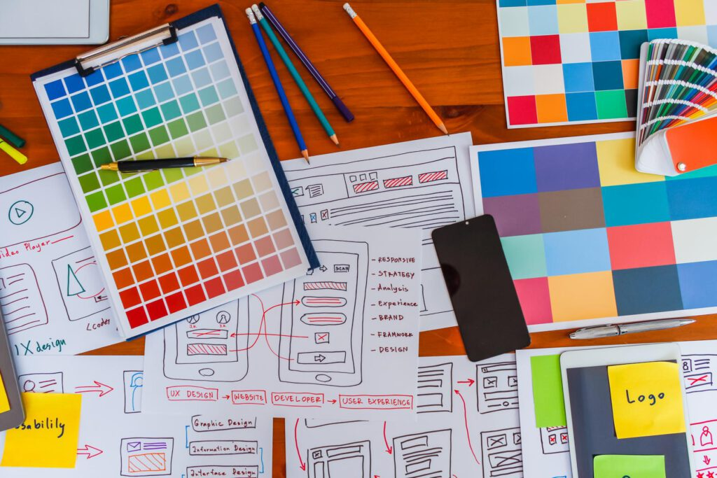 redesign, relaunch, webdesign prozess, website design, farbpaletten