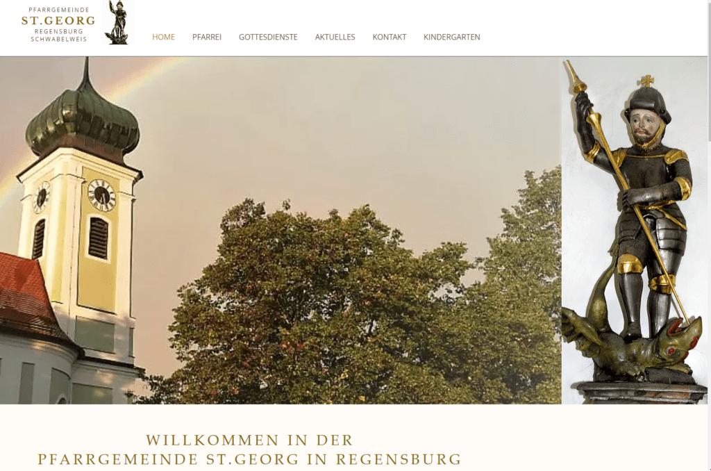 Katholische Kirche in Regensburg schwabelweis